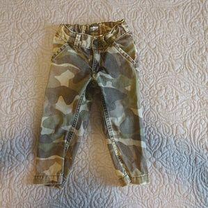 Toddker Boy Army Camo Pants